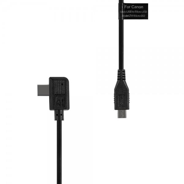 Zhiyun Control Cable Micro USB für Canon