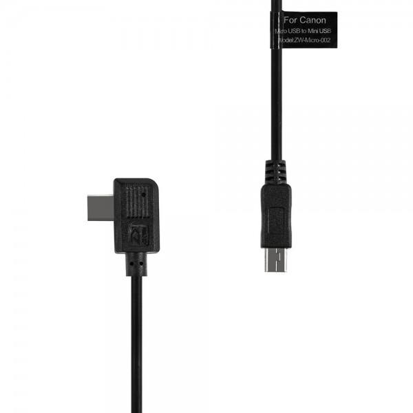 Zhiyun Control Cable Mini USB für Canon