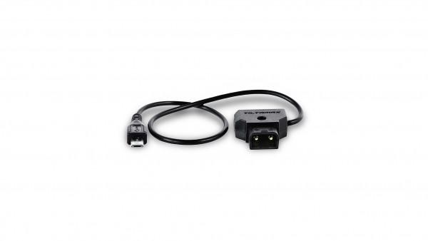 Tilta Nucleus-Nano P-TAP to Micro USB Motor Power Cable WLC-T04-PC-PTAP